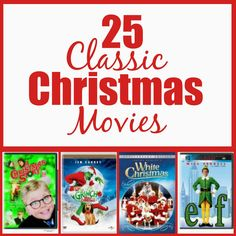 25 movies to watch this Christmas.