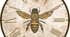 Since I love bees, I love making bee-themed printables. Here are some more: I added a honeycomb background to this one. Vintage Bee, Vintage Ephemera, Printable Designs, Free Printables, Bee Pictures, I Love Bees, Bee Skep, Bee Art, Collage Design