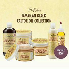 Jamaica black castor oil set