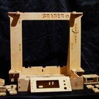 Graber i3 kit CNC Cut Frame in 6mm Plywood to build 3D Printer