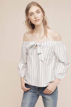 Slide View: 1: Orley Off-The-Shoulder Blouse