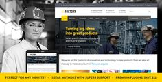 Factory v1.3 – Industrial Business WordPress Theme
