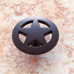 JVJ Hardware Oil Rubbed Bronze Medium Star Knob