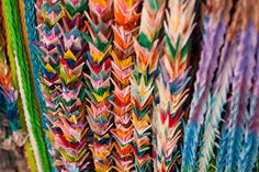 1000 paper cranes: only a few left to go (: