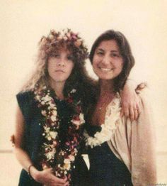 Stevie ~ ღ☆❤☆ღ ~ and Sharon Celani, where they met in a bar in the Blue Max, Hawaii in 1977; Sharon was singing there ans Stevie just happened to hear her ~ what a lucky coincidence ~ http://www.inherownwords.com/girls.htm