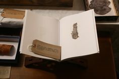 """ herman de vries, Fragments, artist's book published by Peter Foolen, with 25 photographs of natural fragments at actual size. """