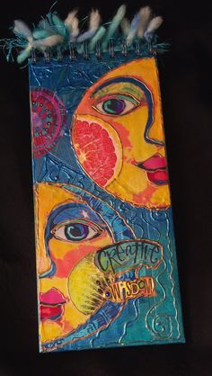 Altered ART Journal, Creative Wisdom by bluemoose on Etsy