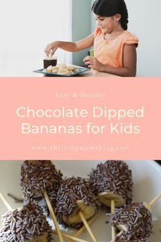 Ok so my kids LOVE these! We are always looking for chocolate recipes that are healthy and simple enough to make that the kids can help. Plus I don't feel guilty snagging a few of these gluten free treats for myself! Healthy Baby Food, Healthy Meals For Kids, Dinner Recipes For Kids, Healthy Desserts, Baby Food Recipes, Whole Food Recipes, Snack Recipes, Healthy Recipes, Dairy Free Chocolate Chips