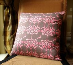 Designer Tina Givens fabric pillow cover.  by Carpetbaggercreations for $19.95
