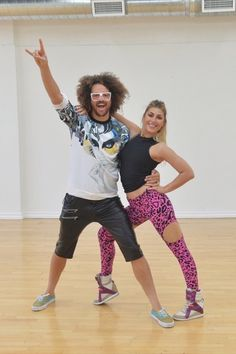 Redfoo Dancing With The Stars Cha Cha Video Season 20 Premiere 3/16/15 #DWTS SO SAD THEY WERE ELIMINATED