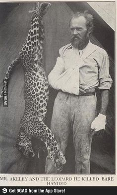 Found overly manly man's dad