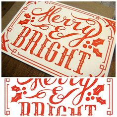 Merry Bright by Clairice Gifford