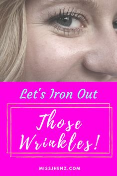 Let's Iron Out Those Wrinkles! - Much like eating healthily isn't solved by a short-term fix, getting rid of wrinkles and unsightly marks requires a lot of determination, good habits, and, dare I say it, time! I know it's not what you want to hear when you've got a big date next week, and by all means, apply the concealer and get yourself looking as best as you can. But if you're really gonna get your face radiant, you're gonna have to do some of these…