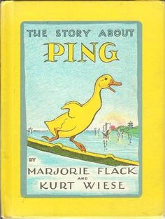 Story about Ping by Marjorie Flack, http://www.amazon.com/dp/0670059498/ref=cm_sw_r_pi_dp_hWORrb0358533
