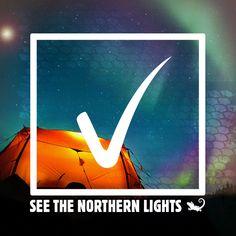 Bucket List Item: See the Northern Lights.