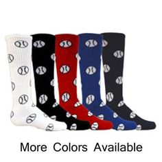 Baseball / Softball Logo Over the Calf Sport Socks