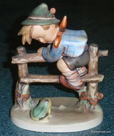 LARGE 1950s Barnyard Hero Goebel Hummel by Figurines2Collect