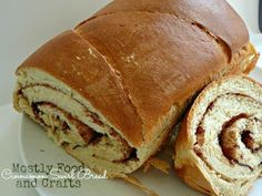Mostly Food and Crafts: SRC - Cinnamon Swirl Bread