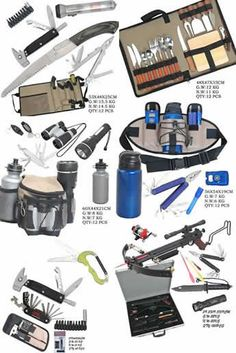 Survival gear | … bags survival gear tents cook gear knives sleeping kit camping tables -Posted on AUGUST 13, 2013 by ADMIN