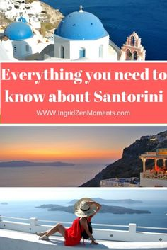 Everything you need to know about Santorini Island, from where to stay, to what to see and where to eat. Travel in Europe. Europe Travel Guide, Travel Guides, Travel Destinations, Travelling Europe, Travel Plan, Santorini Island, Santorini Greece, Greece Travel, Greece Vacation