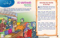 Kisah Asmaul Husna Al-Wahhaab Kids Story Books, Stories For Kids, Asma Allah, Just Pray, Learn Islam, Islam Quran, Doa, My Children, Islamic Quotes
