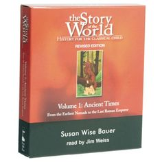 We love this history curriculum Story of the World is a four volume curriculum by Susan Wise Bauer.  It covers Ancient Times to Modern Times.  Grant loved this history program as well.  And the stuff he knows would blow you away!