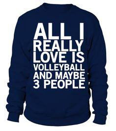 All i really love is volleyball T Shirt  #volleyball #volleyballmom #mom #shirt #tshirt #tee #gift #perfectgift #birthday #Christmas #motherday