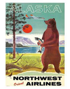 vintage travel poster - Google zoeken
