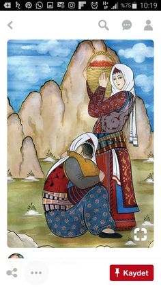 Art Et Illustration, Illustrations, Ceramic Painting, Silk Painting, Art Populaire, Islamic Paintings, Iranian Art, Turkish Art, Mosaic Art