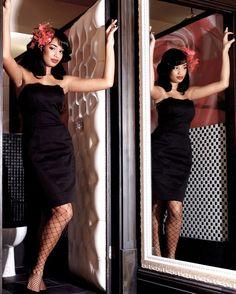 Mahogany tufted door for the Boom Boom Room! Boom Boom Room, Strapless Dress, Bodycon Dress, Glam Girl, Bespoke Furniture, Furniture Making, My Design, Bedroom Decor, Doorway