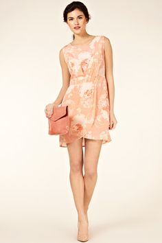 Silk Butterfly Dress at Oasis (oasis-stores.com)
