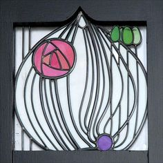Window For The House Of An Art Lover, by Margaret Macdonald Mackintosh,1901