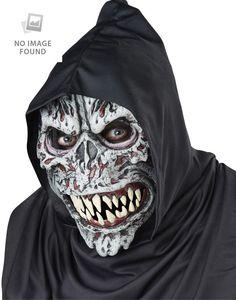 94bdba7b99e Night Fiend Ani-Motion Mask Adult Halloween Accessory  fashion  clothing   shoes