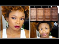 BLACK OPAL | *NEW* PORE PERFECTING FOUNDATION | FULL DEMO & REVIEW - YouTube Her HAIR!!!