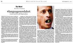 #languagenerdalert A new tool for self-deprecation. (Sep. 24, 2011) http://b.globe.com/hashtagbz
