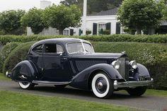 1934 Packard Twelve Model 1106 Sport Coupe. Body by LeBaron.