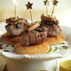 Tostadas, Tapas, Canapes, Catering, Beef, Cooking, Christmas, Food, Drink