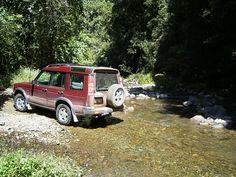 Discovery 2 creek crossing near Gloucester NSW