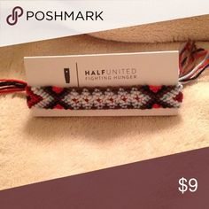 Friendship bracelet For every product you purchase HalfUnited gives a week of meals to a child in need. Half United Jewelry Bracelets