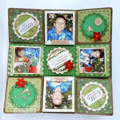 Hilda Designs: Blog Hop Latina Crafter: Christmas in July // Navidad en Julio, set Este es el tiempo y Frases Mini para Navidad & Wood Veneers de Latina Crafter