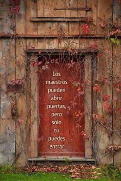 maestros y puertas
