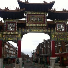 Chinatown Liverpool   利物浦 唐人街 in Liverpool