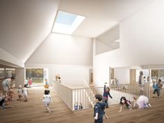 1. Preis Kindergarten, Stairs, Space, Interior, Home Decor, Kids Day Out, Architecture, Floor Space, Stairway