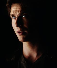 Damon Salvatore those eyes tho!!