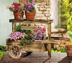 Pushcart for my patio