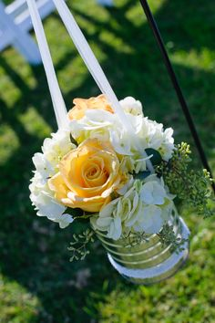 Flower decor. #white #flowers #simple