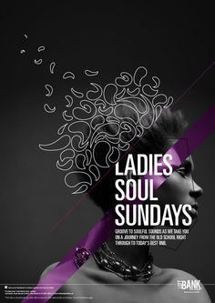 Soul Sundays at Left Bank / Music Poster on Behance