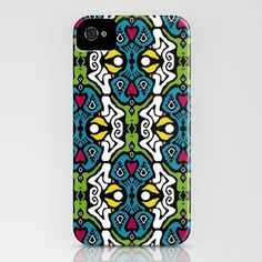LOVE IKAT iphone case by Sharon Turner