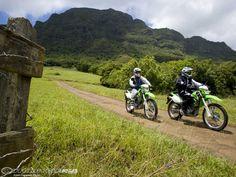 2008 Kauai Adventure- Kawasaki KLX250S