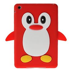 Cute 3D Cartoon Penguin Design Silicone Soft Skin Case Cover for iPad Minii is designed for iPad Mini. It is made of light but strong polymer. It is stain and scratch resistant. It offers great protection of your iPAD Mini without adding bulk.